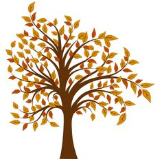 Autumn clipart tree. Clip art fall trees