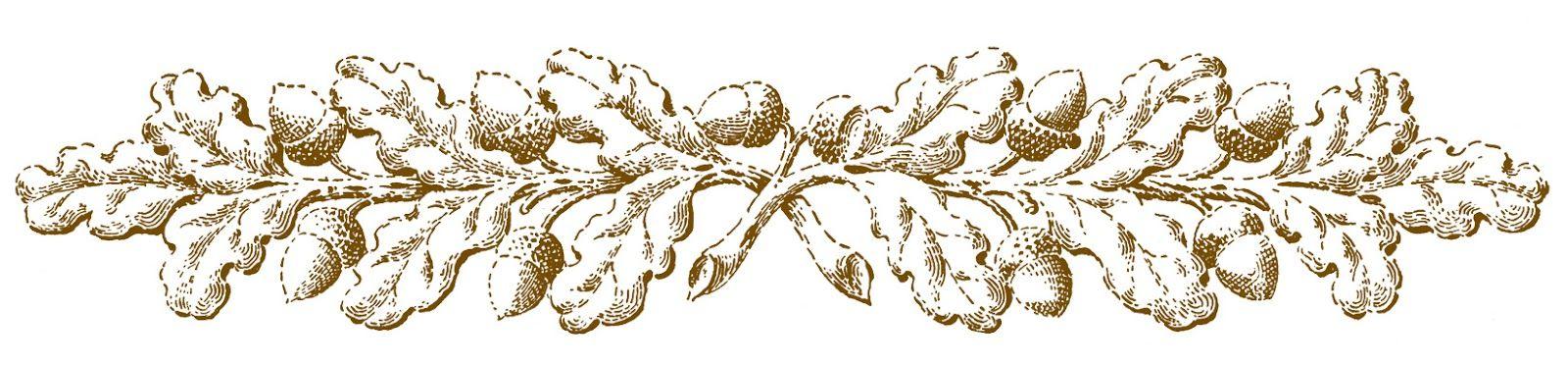 Fall clip art ornamental. Autumn clipart vintage