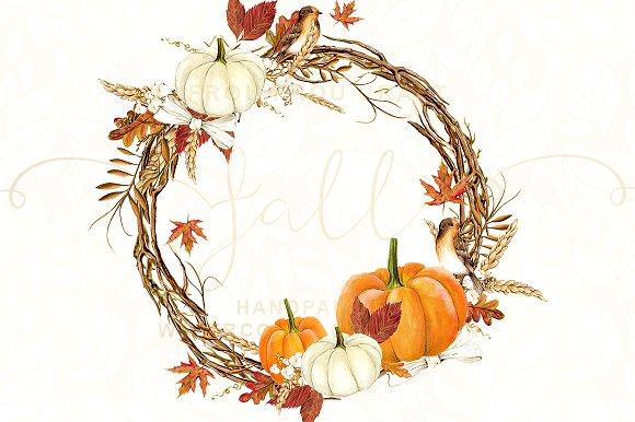 Autumn watercolor