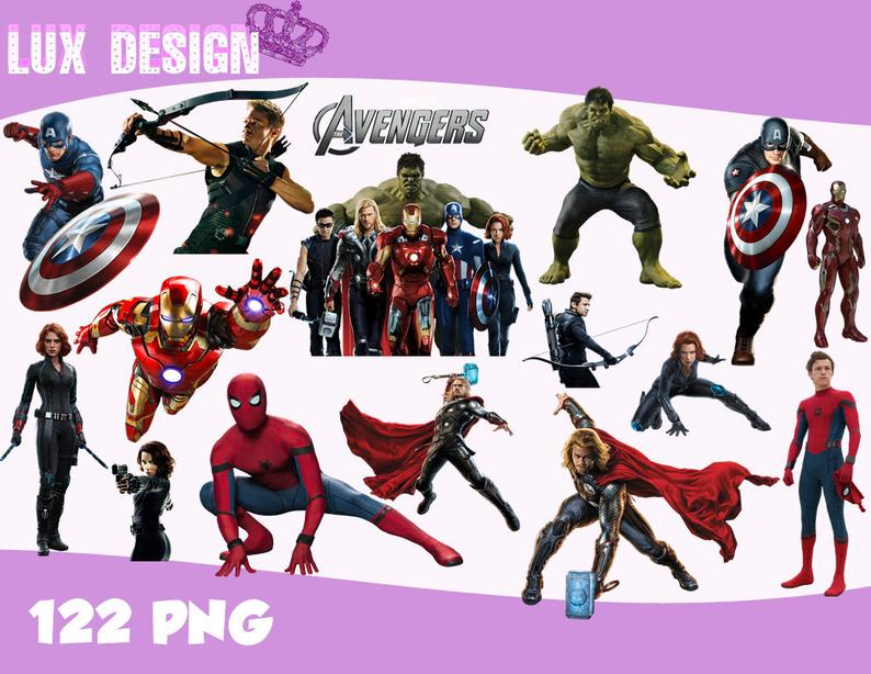 Avengers clipart.  the png images