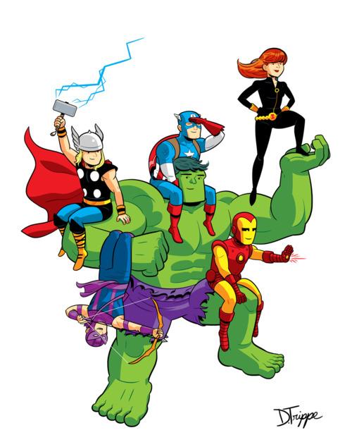 Avenger panda free images. Avengers clipart