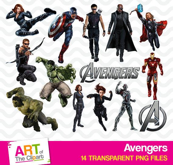 Marvel high resolution image. Avengers clipart