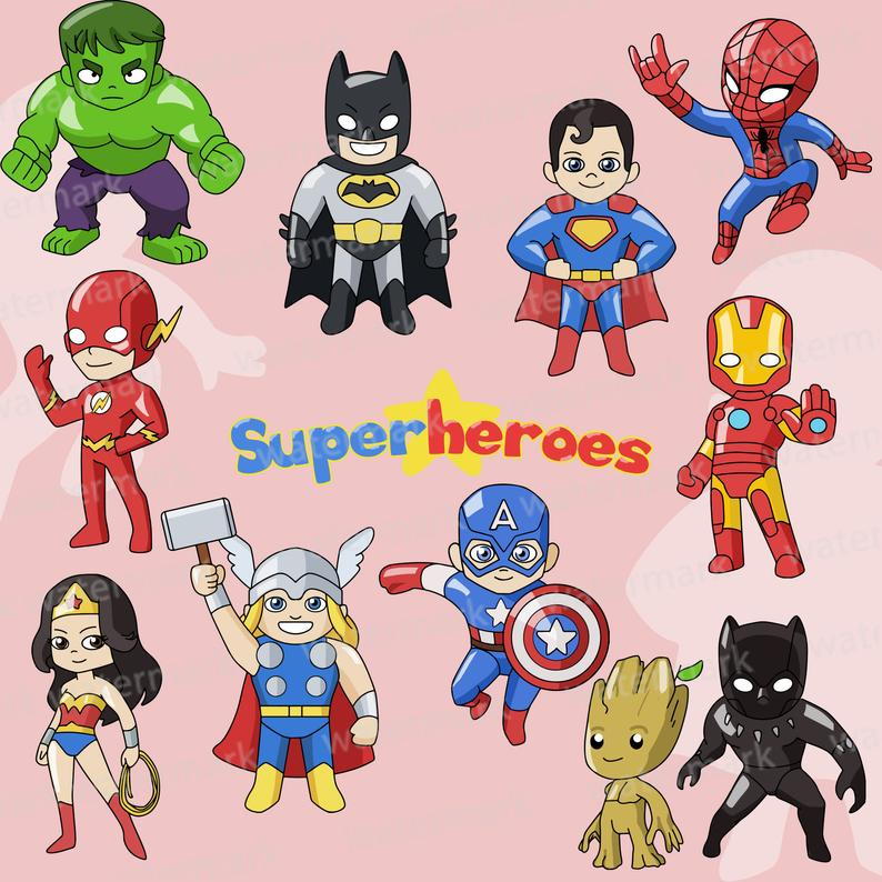 Superheroes clip art justice. Avengers clipart