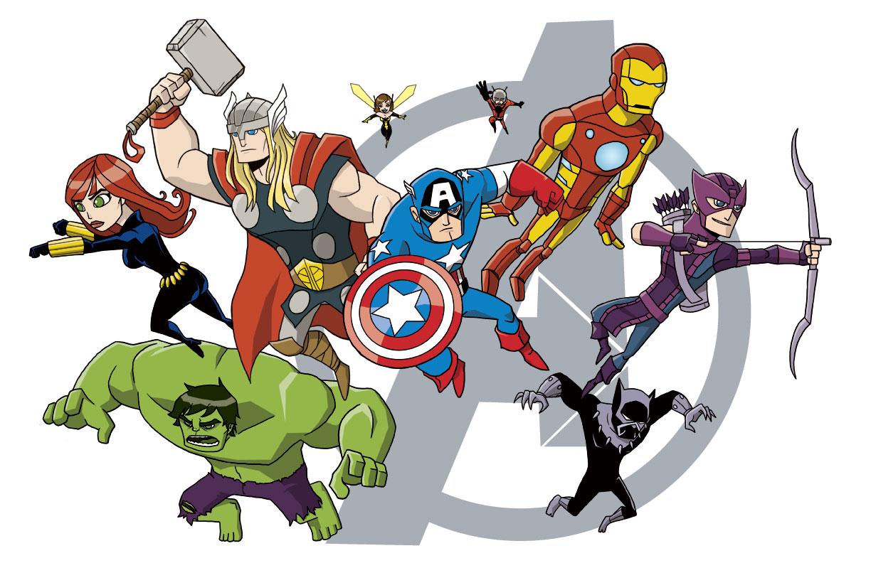 Avengers clipart avengers assemble. Nate xopher