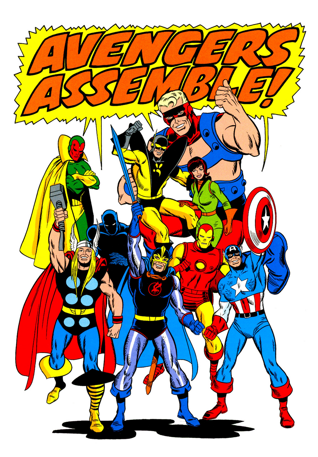 Avengers clipart avengers assemble. Williambrucewest commonday musings and