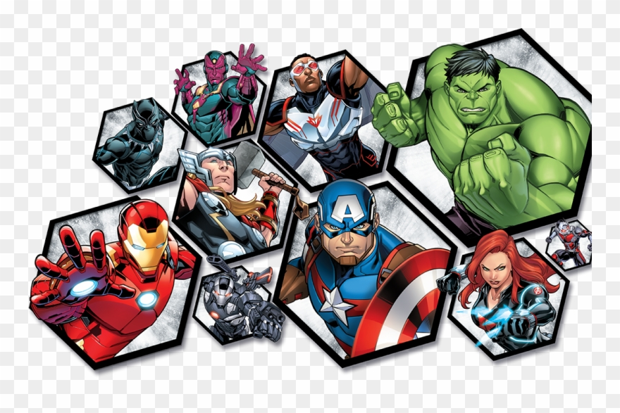 Avengers clipart avengers assemble. The with figures roleplay