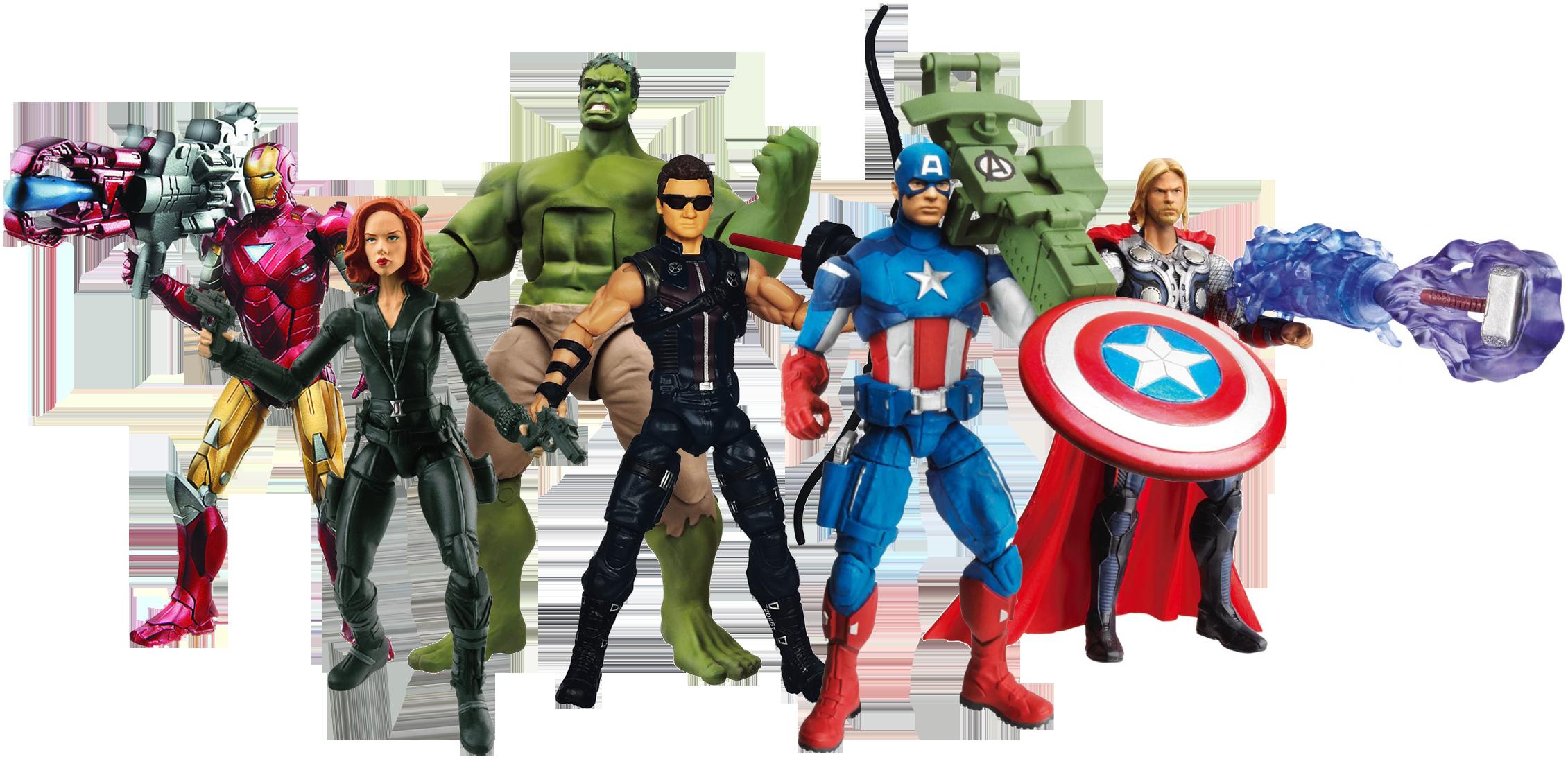 Superheroes action figure