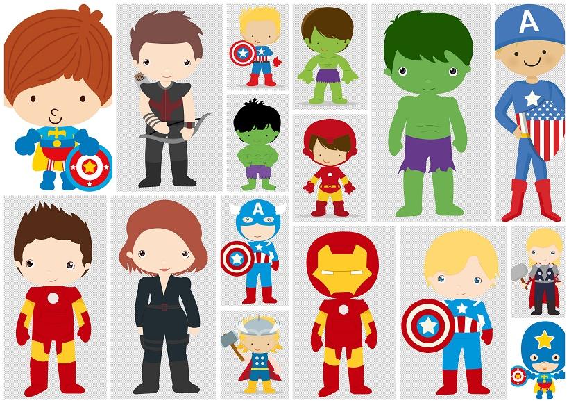 Avenger babies oh my. Avengers clipart baby