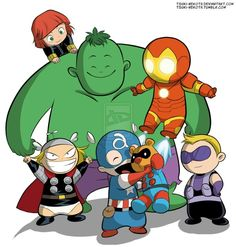 Panda free images . Avengers clipart baby