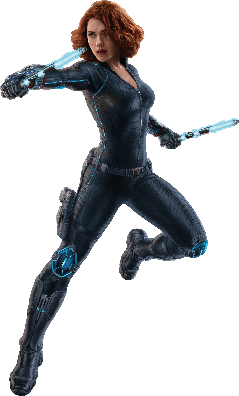 Hero clipart black widow. Image aou render png