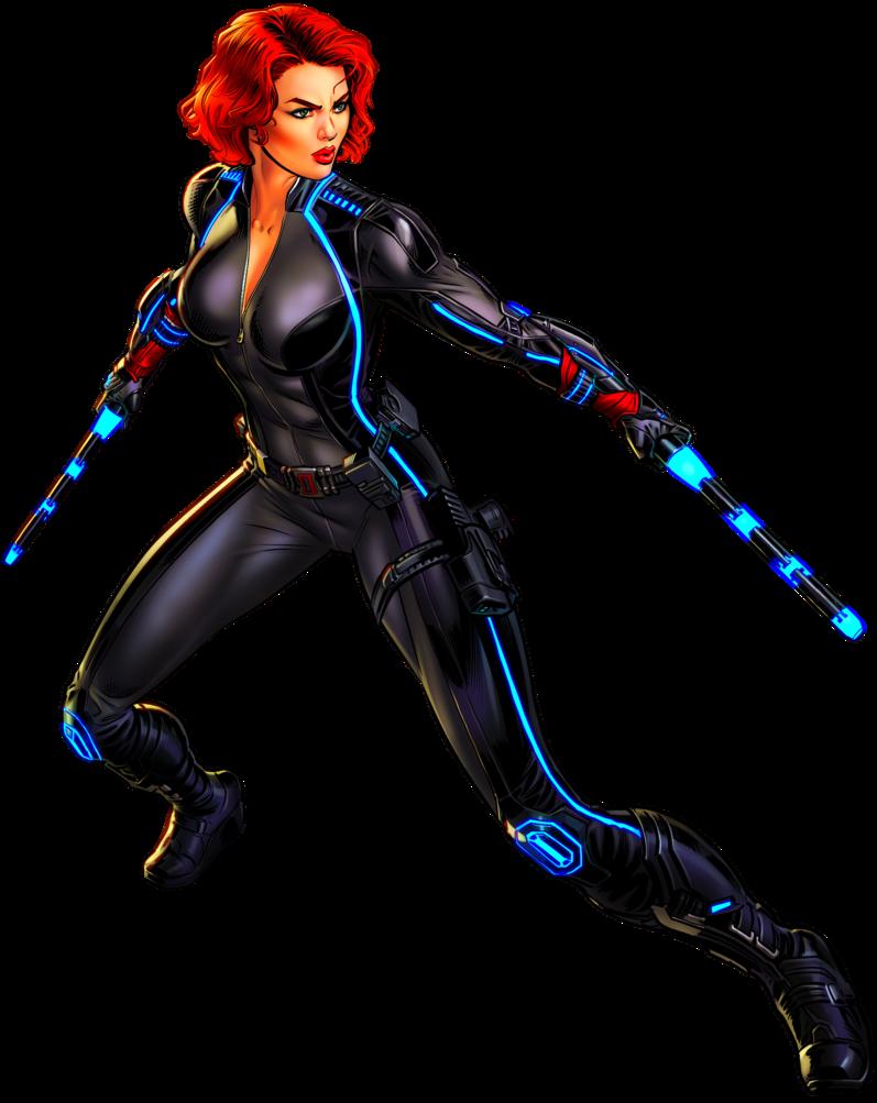 Hero clipart black widow, Hero black widow Transparent ...