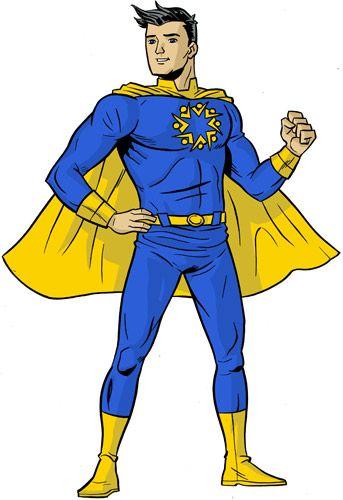 Superhero template clip art. Avengers clipart body