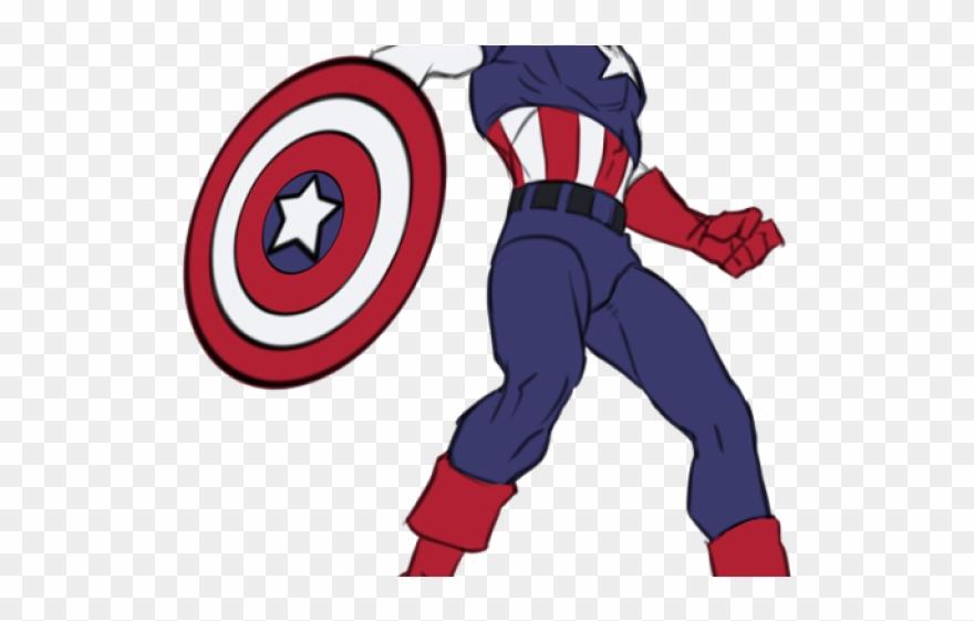 Drawn toon captain america. Avengers clipart body