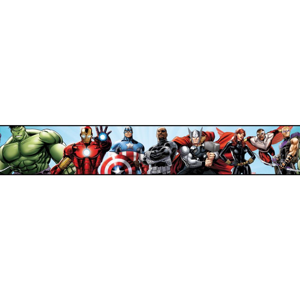 Wall free wallpaper. Avengers clipart border