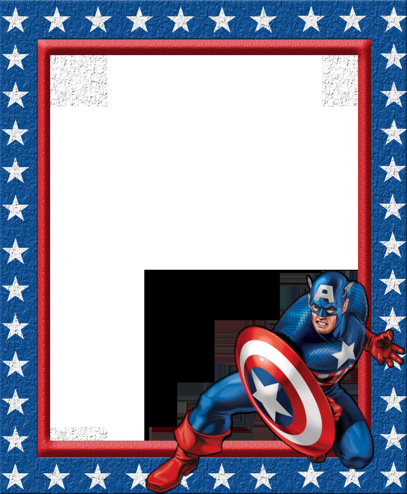 Frames clipart superhero.  images of captain