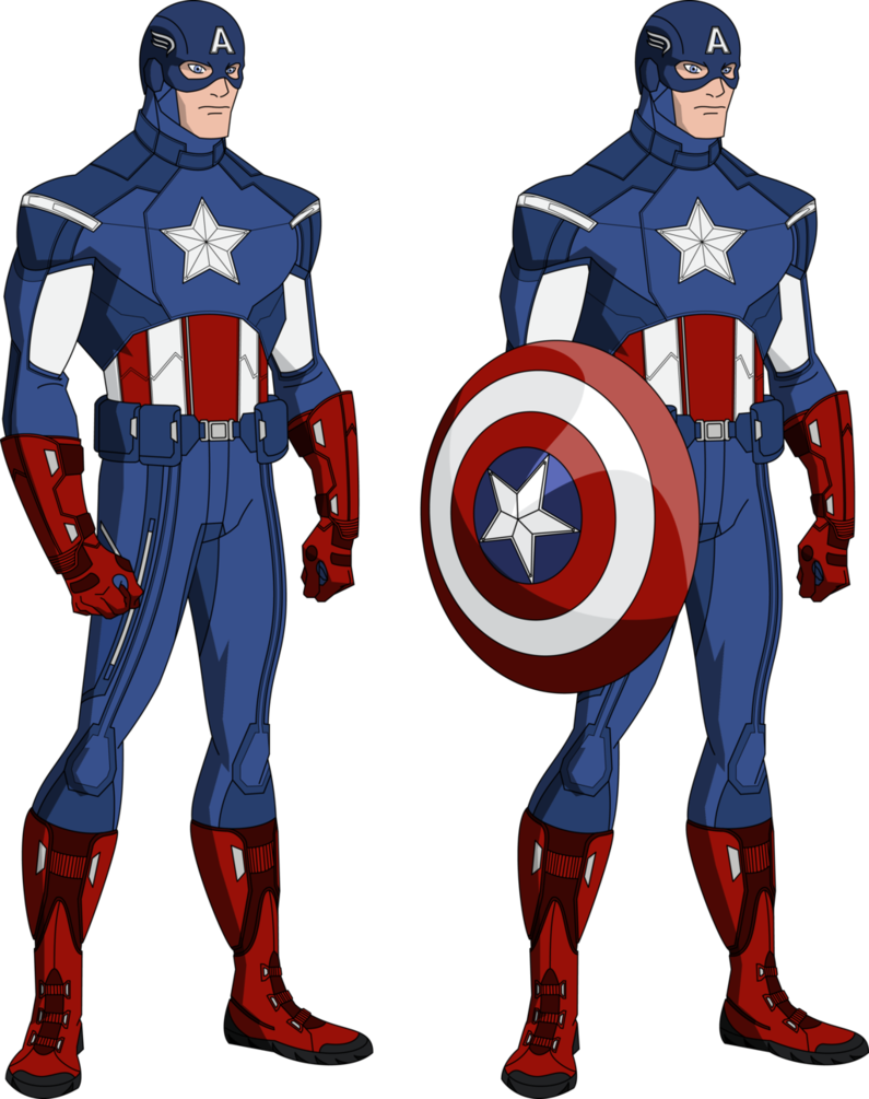 Uniform bourassa style by. Avengers clipart captain america
