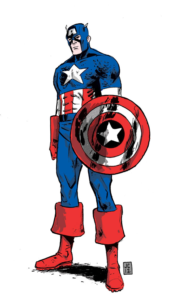 By jasoncopland on deviantart. Avengers clipart captain america