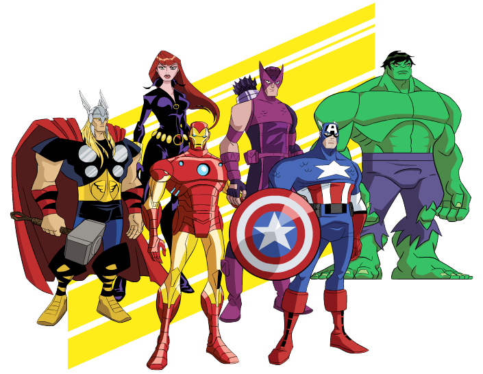 Avengers clipart cartoon. Free cliparts download clip