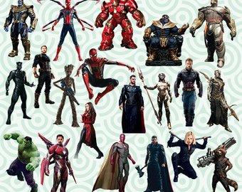 Avengers city background