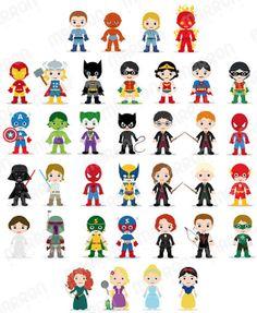 Avengers clipart cute. Superhero avenger kids boy