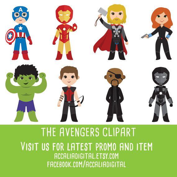 Avengers clipart cute.  off super hero