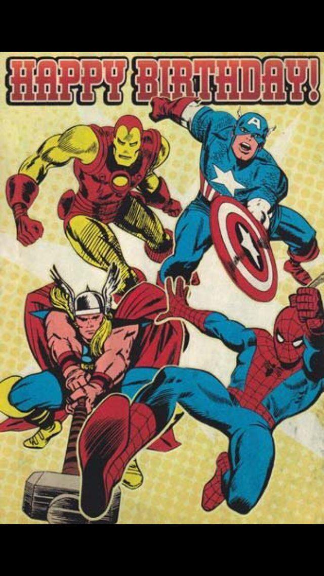 From marvel pinterest. Avengers clipart happy birthday