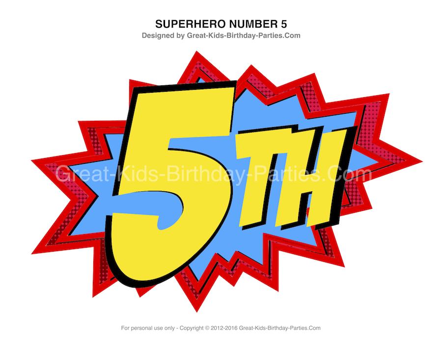 Avengers clipart happy birthday. Superhero printables numbers