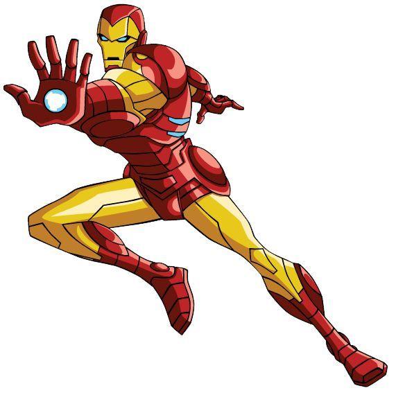 Superheroes clipart iron man cartoon. Clip art superheros superhero