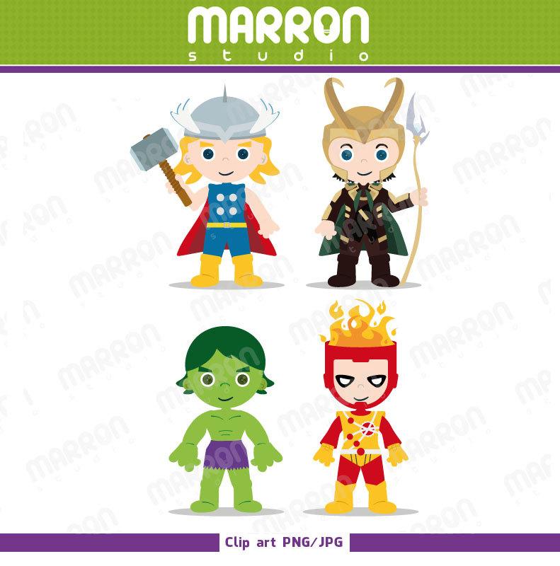 Marron studio superhero inspired. Avengers clipart loki