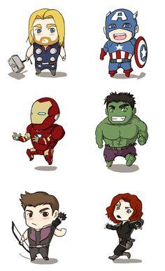 Avengers clipart marvel comic. Captain america cute kawaii