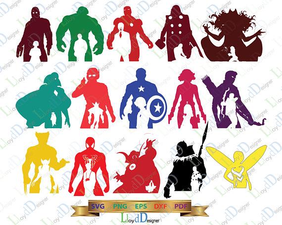 Avengers clipart pdf.  clipartlook