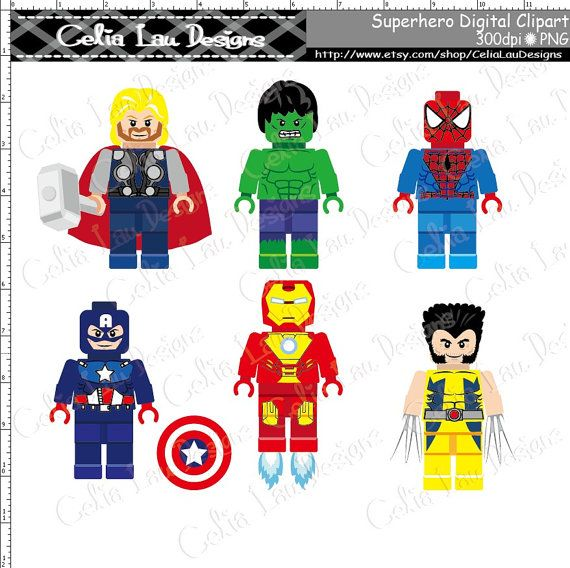 best lego images. Avengers clipart superhero group