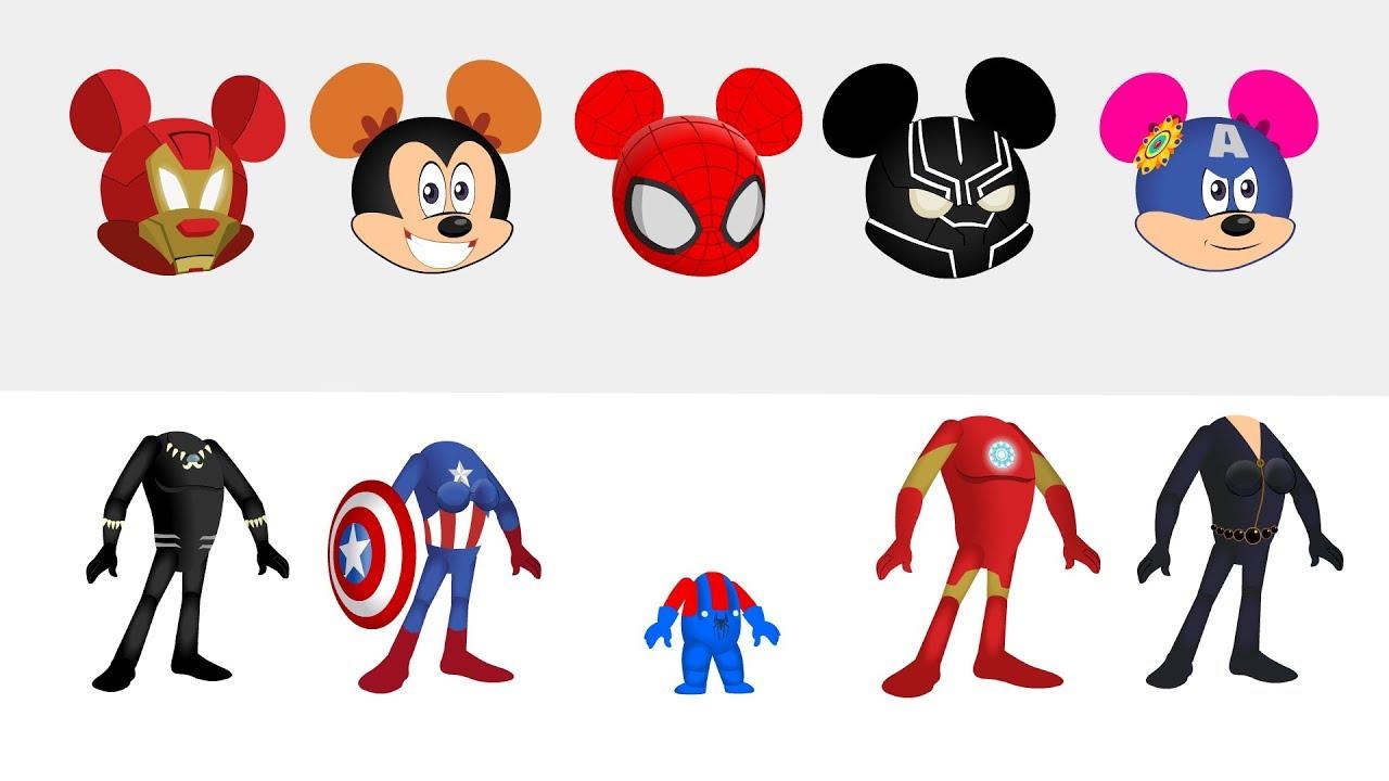 Mickey mouse superheroes wrong. Avengers clipart superhero group