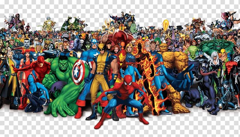 Avengers clipart superhero group. Marvel characters universe transparent