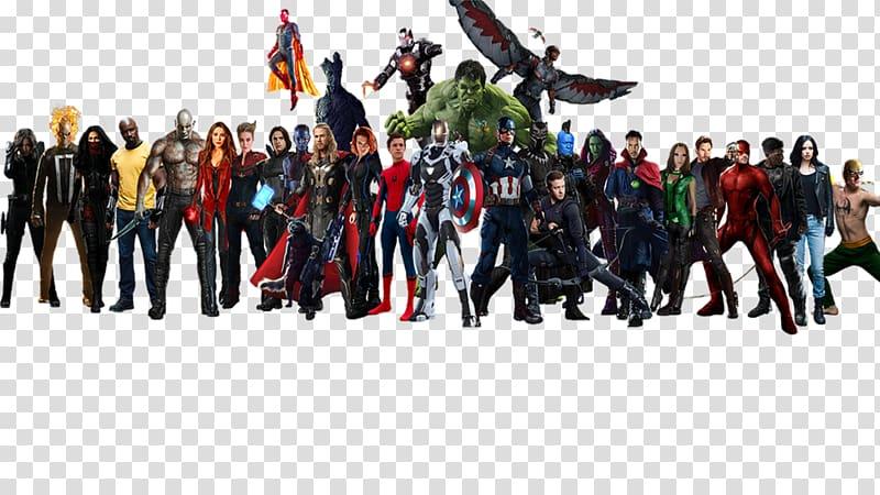 Avengers clipart superhero group. Marvel heroes illustration cinematic