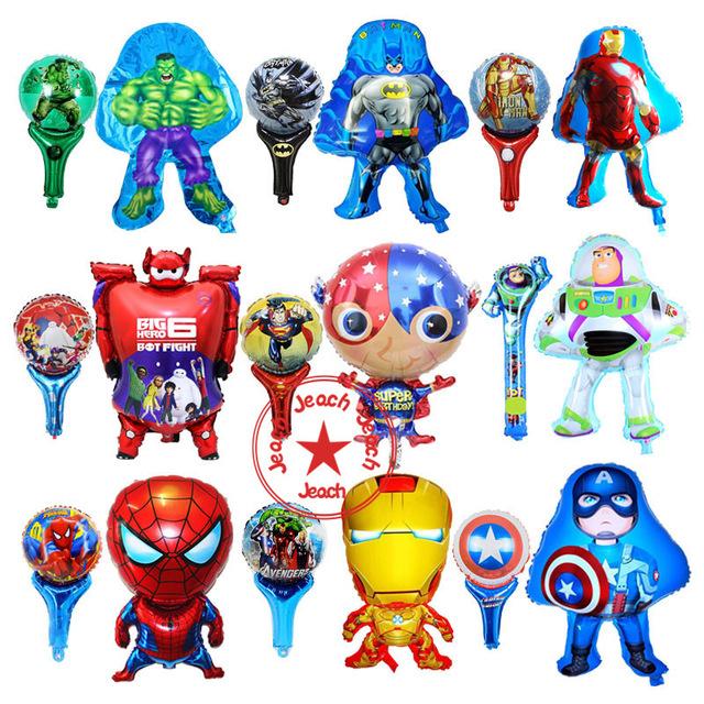 Avengers clipart superhero group. Batman spiderman balloon party