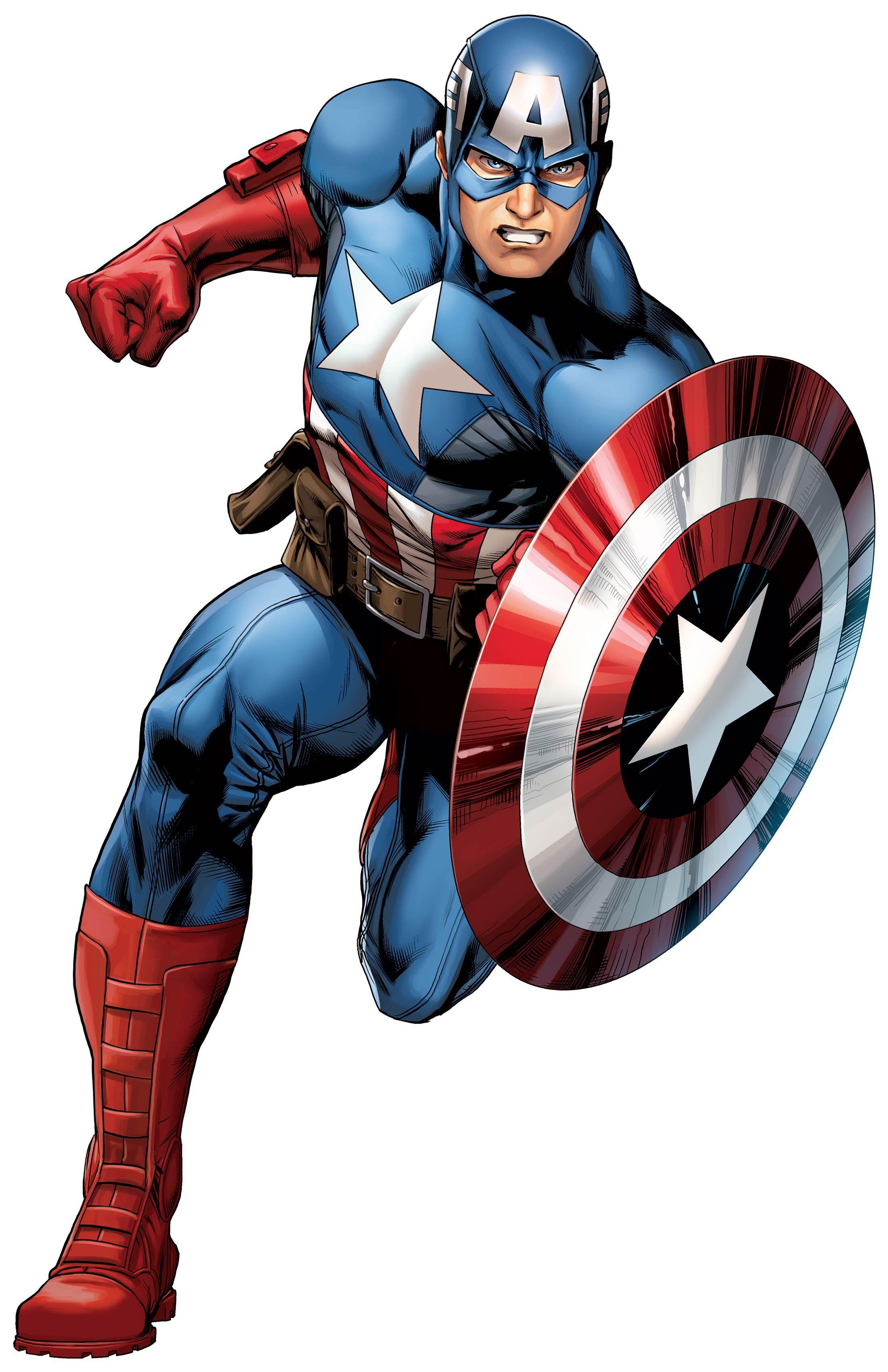 Captain america clip art. Battle clipart superhero