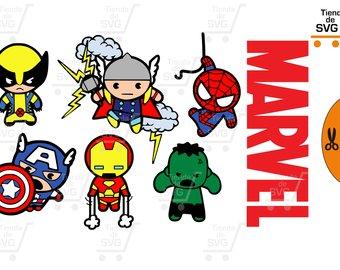Marvel etsy spiderman hombre. Avengers clipart svg
