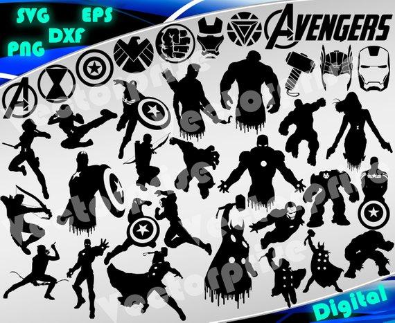 Hulk printable . Avengers clipart svg