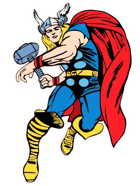 best super hero. Avengers clipart thor