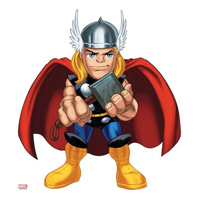 Poster marvel super hero. Avengers clipart thor