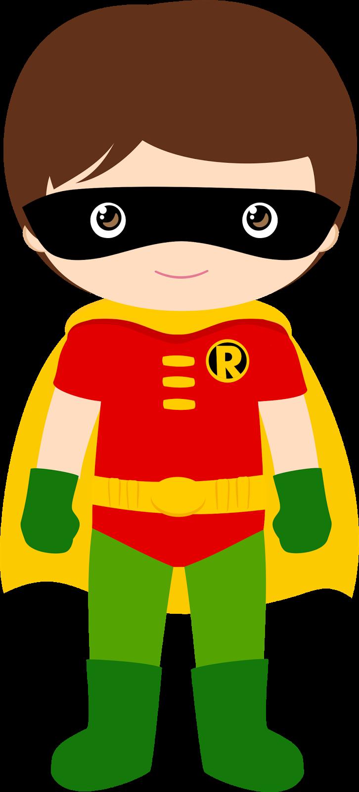 Clipart kids imagination. Characters of batman version