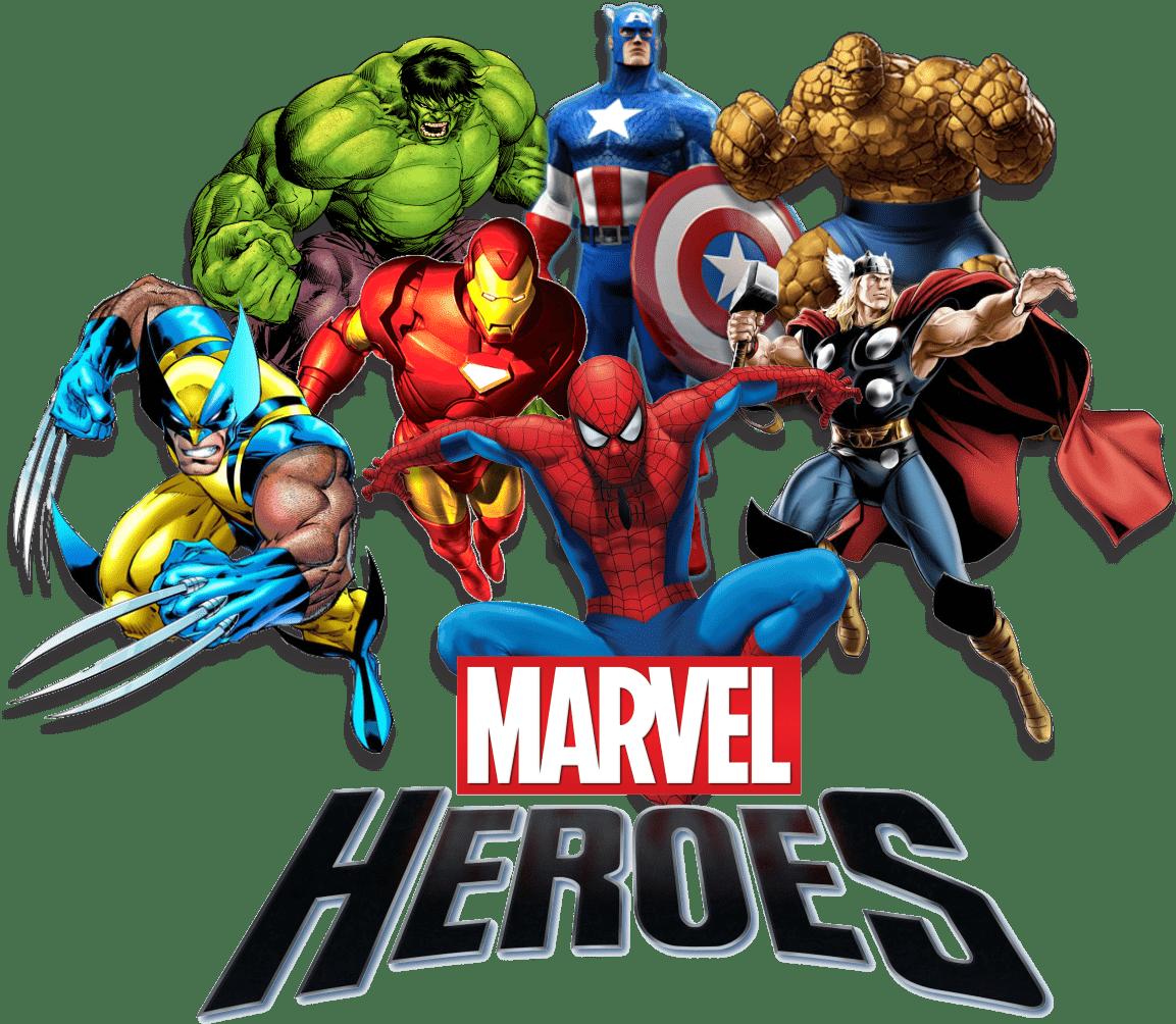 Marvel heroes png stickpng. Avengers clipart transparent