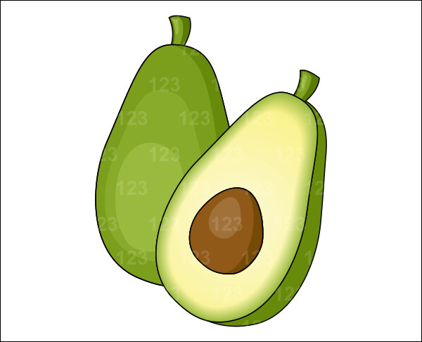 Free cliparts download clip. Avocado clipart