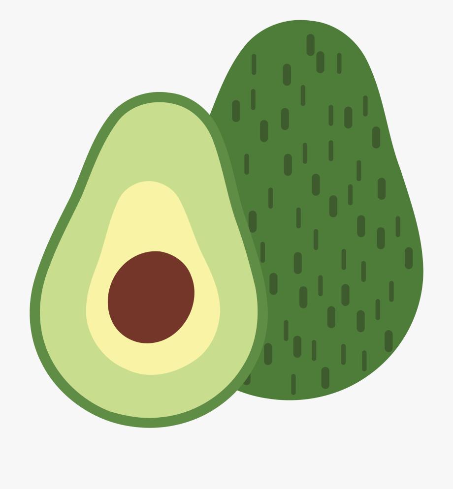 Avocado clipart abocado. Clip art illustration png
