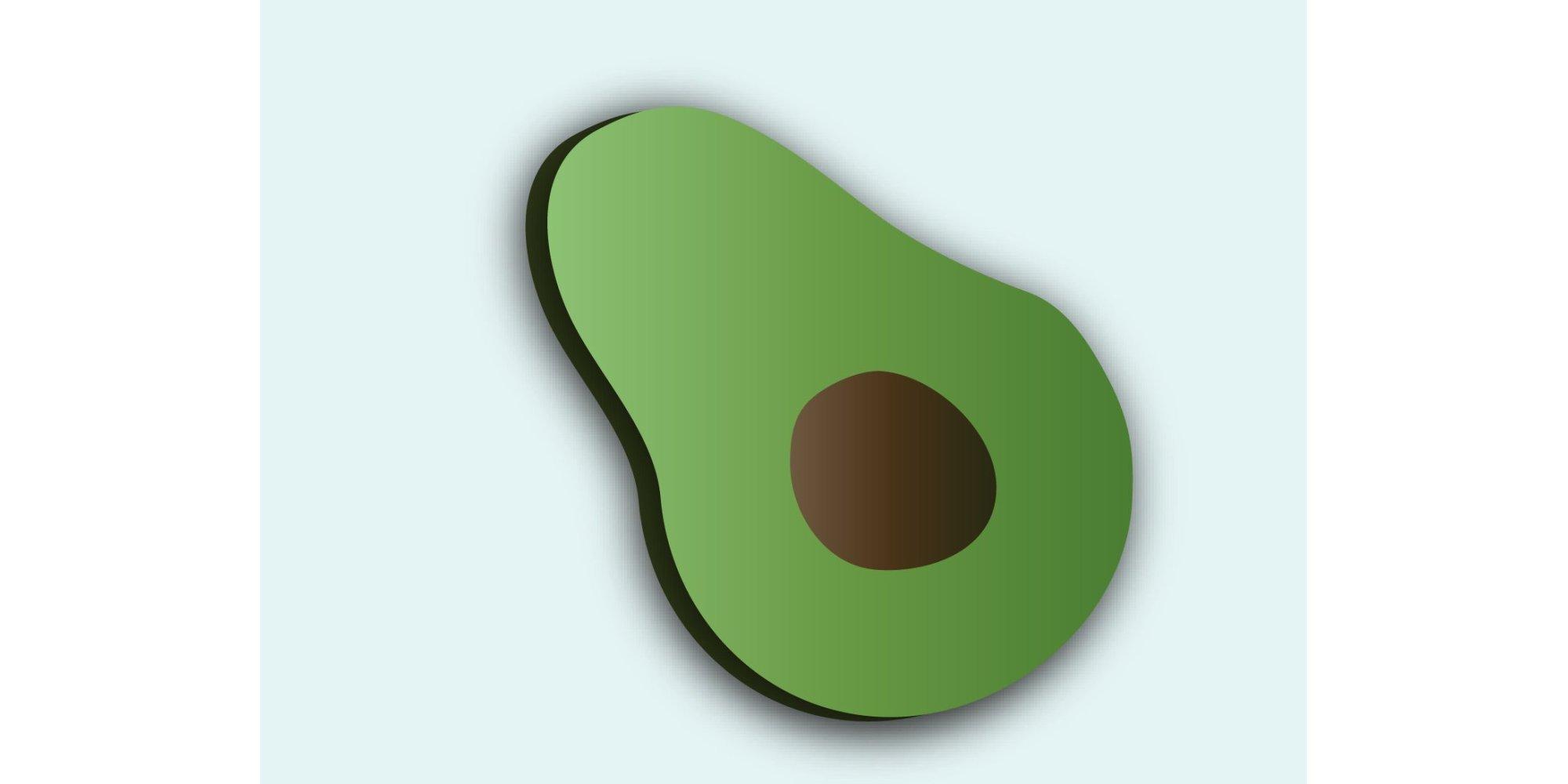Avocado clipart advocado.  emojis we desperately
