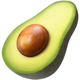 avocadoemoji. Avocado clipart atis