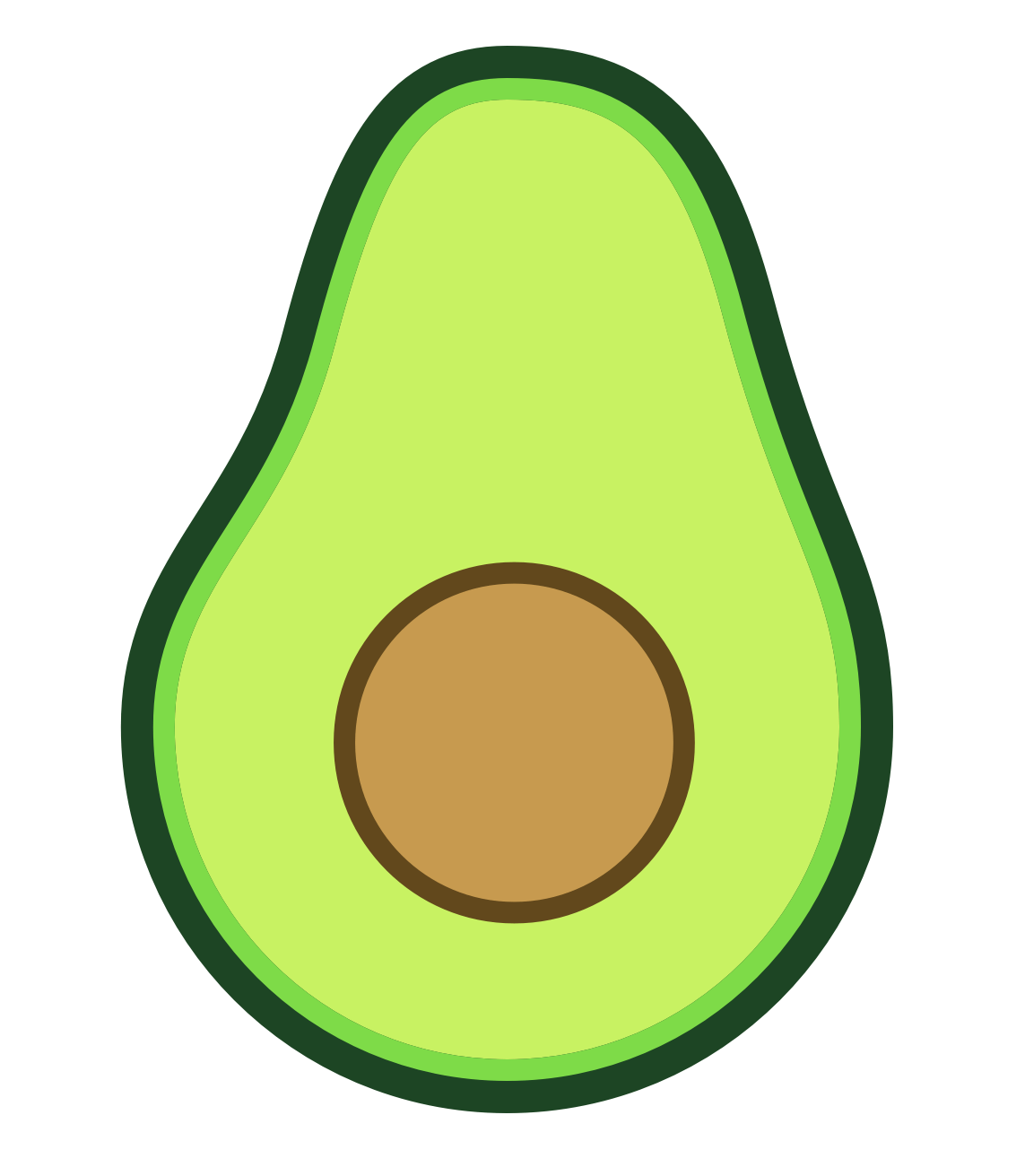 Image result for avocado. Donut clipart animated