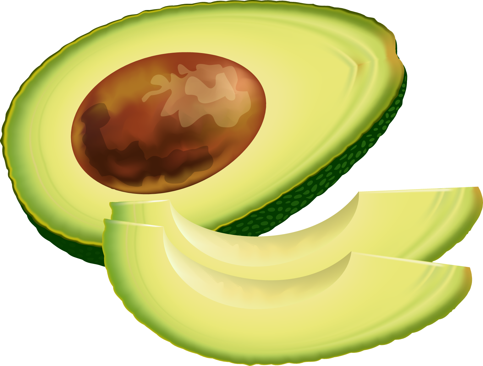 Free avocado cliparts download. Strawberries clipart gambar