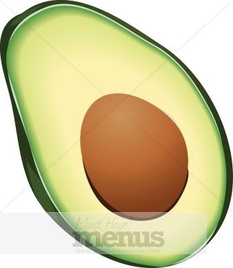 Fruit . Avocado clipart clip art
